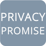 privacy promise policy button